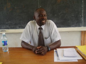 Mr. David Olema, lecturer MUST